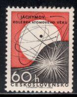 Czechoslovakia 1966 Mi# 1645 ** MNH - Jachymov (Joachimsthal) / Atom - Ongebruikt