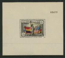 Spain 1938 Souvenir Sheet - 1931-50 Nuovi