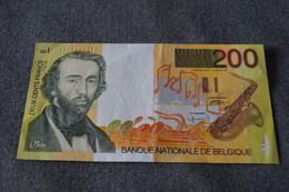 Super Ancien Billet De 200 Franc Belge,Adolf Max Saxo ,état Neuf Pour Collection - Belgique