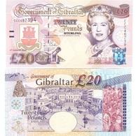 Gibraltar - 20 Pounds 2004 Pick 31 UNC Lemberg-Zp - Gibraltar