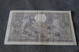 Ancien Billet De 20 Belga,100 Franc Belge, Pour Collection,18 Cm. Sur 10,5 Cm. - Belgique