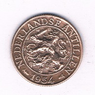1 CENT 1954 NEDERLANDSE ANTILLEN /2217/ - Antilles Neérlandaises