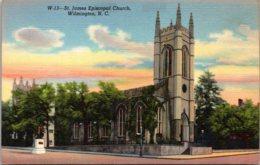 North Carolina Wilmington St James Episcopal Church Curteich - Wilmington