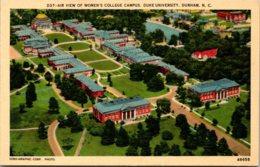 North Carolina Durham Duke Universiity Aerial VIew Of Women's College Campus - Durham