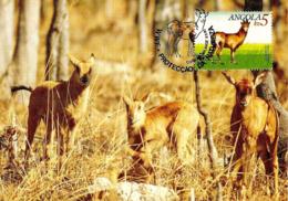 1990 - ANGOLA - Giant Sable Antelope - Angola