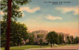 North Carolina Durham Duke University Hospital Curteich - Durham