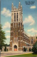 North Carolina Durham Duke University The Chapel Curteich - Durham