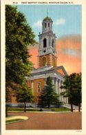 North Carolina Winston Salem First Baptist Church - Winston Salem