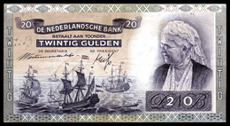 NETHERLANDS - PAYS-BAS - 20 Gulden - 1941 - P53 - XF/SUP - Bateau - [2] 1815-… : Kingdom Of The Netherlands