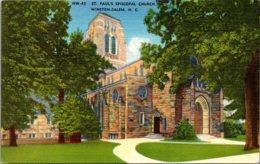 North Carolina Winston Salem St Paul's Episcopal Church - Winston Salem