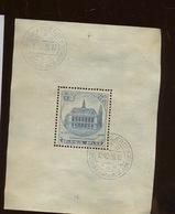 Bloc Charleroi Oblitéré  Sans Colle   Cote 45,-euros - Blocks & Sheetlets 1924-1960