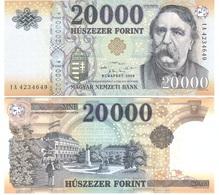 Hungary - 20000 Forint 2020 UNC P. 207 New Date Lemberg-Zp - Ungheria
