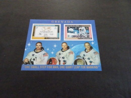 K30474 -Bloc  MNH Grenada  1969  - Astronauts - Südamerika