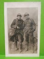 Carte Photo, Le Photographe Et Décédé Après La Photo. 2scan. André Et Armand Lohest, Tournai - War 1914-18