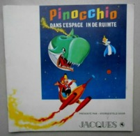 Album Chromos/ Jacques / Pinocchio Dans L'espace/ Complet - Albums & Katalogus