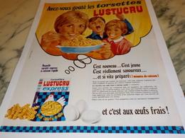 ANCIENNE PUBLICITE LES CTORSETTES DE  LUSTUCRU 1969 - Affiches
