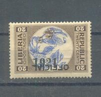 Liberia 1921 MNH - Liberia