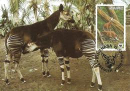 1984 - ZAIRE Kinshasa - Okapi - Kinshasa - Leopoldville