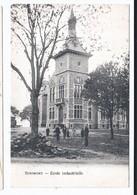 Sprimont Ecole Industrielle  Oblitérée Sprimont Et Nivelles En 1906 - Sprimont