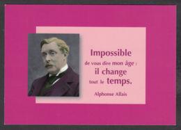 91462/ Alphonse ALLAIS, Journaliste, écrivain Et Humoriste - Ecrivains