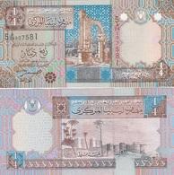 Libya - 1/4 Dinar 2002 P. 62 UNC Lemberg-Zp - Libya
