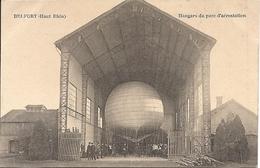 CPA BELFORT HANGARS Du Parc D'aerostation - Belfort - Ville