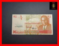 MALAWI 5 Kwacha 1.6.1995  P. 30  UNC - Malawi
