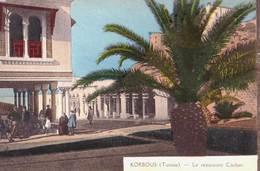 CPA / Judaïca Korbous (Tunisie) Le Restaurant Cascher    Ed Longuet - Judaisme