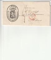 Vouwbrief Van 's Hertogenbosch (Maatschappij Van Brandverzekering) Naar Helvoirt , 21/09/1856 ; - Non Classificati