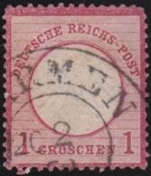 Deutsches Reich   .    Michel    .    4    .      O      .   Gebraucht . /      Cancelled - Allemagne