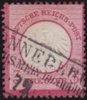 Deutsches Reich   .    Michel    .    9   .      O      .   Gebraucht . /      Cancelled - Allemagne