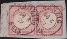 Deutsches Reich   .    Michel    .    4 Paar   .      O      .   Gebraucht . /      Cancelled - Allemagne