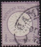 Deutsches Reich   .    Michel    .    16  (2 Scans)     .      O      .   Gebraucht . /      Cancelled - Gebruikt