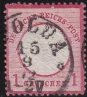 Deutsches Reich   .    Michel    .    19      .      O      .   Gebraucht . /      Cancelled - Gebraucht