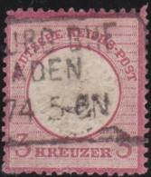 Deutsches Reich   .    Michel    .    25      .      O      .   Gebraucht . /      Cancelled - Germany