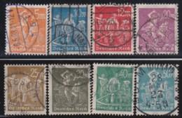 Deutsches Reich   .    Michel    .   238/245    .      O      .   Gebraucht . /      Cancelled - Allemagne