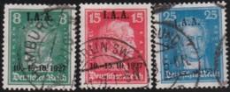 Deutsches Reich   .    Michel    .   407/409  (2 Scans)        .      O      .   Gebraucht . /      Cancelled - Gebraucht