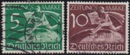 Deutsches Reich   .    Michel    .    738/739      .      O      .   Gebraucht  .   /   .    Cancelled - Gebraucht