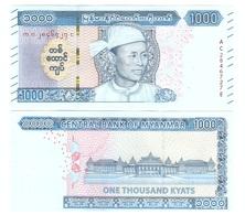 Myanmar - 1000 Kyats 2019 UNC Lemberg-Zp - Myanmar