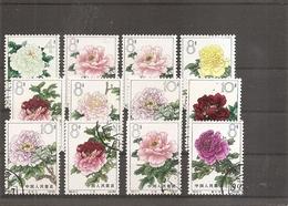 Chine ( Lot De 12 Timbres Oblitérés De 1964 ) - 1949 - ... Volksrepublik