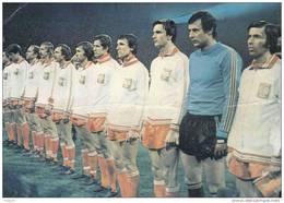 Carte Postale Sport Coupe Du Monde De Football1978  L'équipe De Pologne Très Beau Plan - Polen