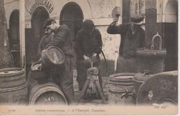75 - PARIS - SCENES PARISIENNES - TONNELIERS A L'ENTREPOT - ADOLPHE BOUCHARD - Petits Métiers à Paris