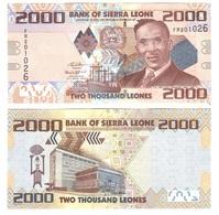 Sierra Leone - 2000 Leones 2016 UNC New Date Lemberg-Zp - Sierra Leone