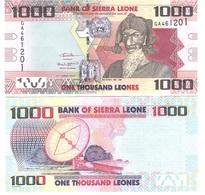 Sierra Leone - 1000 Leones 2016 UNC New Date Lemberg-Zp - Sierra Leone