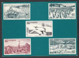 95814/ TIMBRES REPRESENTES, Suède, Sverige, Carnet De Timbres émis Le 2/3/1973 - Briefmarken (Abbildungen)