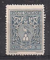 VATICANO  1945 MEDAGLIONCINI SASS. 91 MNH XF - Vatican