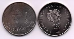 Armenia - 100 Dram 1997 UNC Yeghishe Charents Lemberg-Zp - Armenië