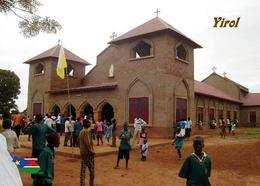 South Sudan Yirol Church New Postcard Südsudan AK - Autres