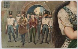 V 73025 - I Carbonari 1821 - Cinquantesimo Anniversario Della Proclamazione Del Regno D'Italia - History