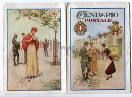 CALENDARIO POSTALE-10,50X15- PER L'ANNO 1939(XVII)-EDITO DALLO STAB.P.CAPPELLI POGGIBONSI SIENA-ORIGINALE AL 100%- - Big : 1921-40